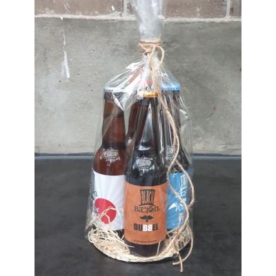 Cadeautip: verpakking met 4 verschillende bieren